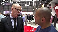 Chris Harris en Cars - Motor show 2015 en Ginebra