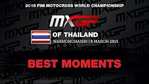 Mejores Momentos MXGP de Tailandia 2015