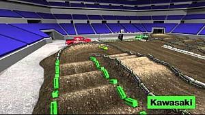 Mapa dinámico de pista: Ronda 11 - Indianapolis