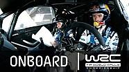WRC Rally Guanajuato México 2015: A bordo Evans SS17