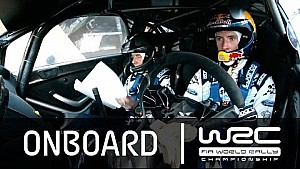 WRC Rally Guanajuato México 2015 : Onboard Evans SS17