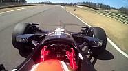 James Hinchcliffe au Barber Motorsports Park en caméra embarquée