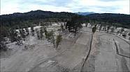 Una vuelta en drone por la pista de Patagonia - MXGP