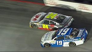 Edwards spins while battling Gordon