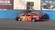 Choque y fuego con en el Bad Late Model