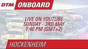 On Board LIVE : Marco Wittmann (DTM Hockenheim Course 2)