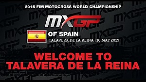 Bienvenido al  MXGP de España 2015