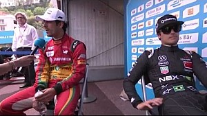 Di Grassi y Piquet tienen un pequeño incidente