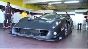 La Ferrari P4/5 Competizione scende in pista a Vallelunga