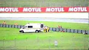 Incidente Simoncelli: l'errore dei soccorritori