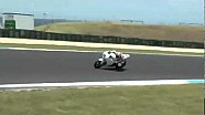 Honda World Superbike - Phillip Island test, day 1