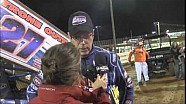 2015 World of Outlaws Sprint Car Series Victory Lane from Lincoln Speedway