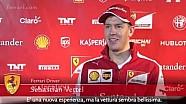 Presentazione Ferrari SF15-T: intervista a Sebastian Vettel