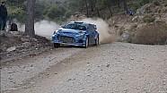 Test Hyundai i20 WRC 2015. Thierry Neuville