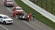 Accidente de Josef Newgarden - Indianapolis Motor Speedway - 14 de mayo