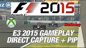 Cinq tours sur F1 2015 en Red Bull au Mexique
