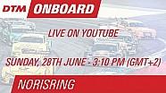 DTM Norisring 2015 - Jamie Green - Live Onboard (Race 2)