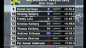 2004 WRC - Sweden - Round 2