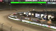 Kings Royal 32 race highlights with Steve Kinser crash