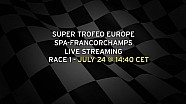 LIVE - Lamborghini Super Trofeo Europe Spa-Francorchamps - Race 1