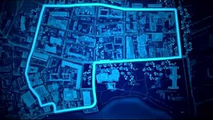 L'ipotesi di circuito dell'ePrix di Lugano