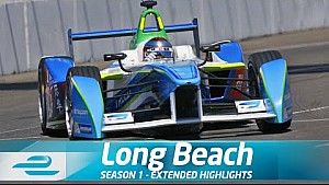 Carrera completa: Long Beach ePrix (Temporada 1 - Ronda 6)
