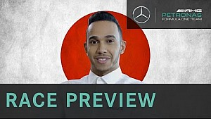Lewis Hamilton 2015 Japanese Grand Prix Preview, with Allianz
