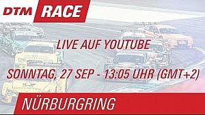 DTM на Нюрбургринге: прямой эфир второй гонки