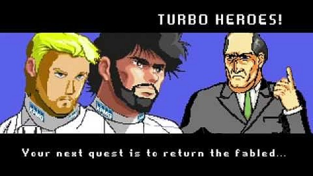 Fernando Alonso and Jenson Button - Turbo Heroes
