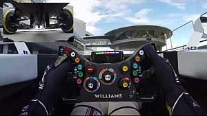 كاميرا قمرة قيادة سيارة ويليامز: جولة مع السائق