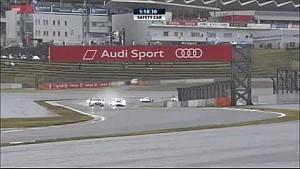 انطلاق السباق خلف سيارة الأمان