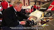 Giorgio Piola présente l'évolution technique des Ferrari F1