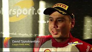 Finali Mondiali Ferrari   Podio Gara 1 Trofeo Pirelli APAC