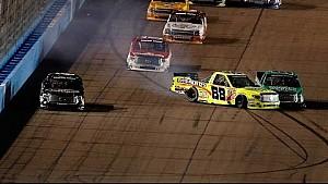 NASCAR crashes and spins at Phoenix