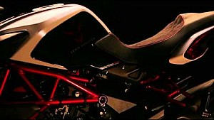Hamilton introducing his limited edition MV Agusta Dragster