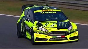 Monster Energy Monza Rally Show 2015: lo prueba de Valentino Rossi