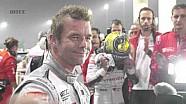 L'émotion de Sébastien Loeb après sa dernière course en WTCC à Losail