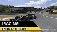 iRacing - Nous voici enfin en McLaren MP4-30 !