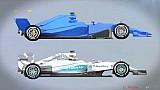 نظرة عن قرب على سيارة مرسيدس 2017 للفورمولا واحد