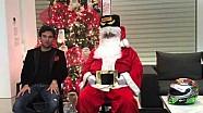 Checo Pérez desea Feliz Navidad a nuestros #BestFans