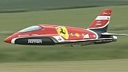 Flying Scuderia Ferrari F1