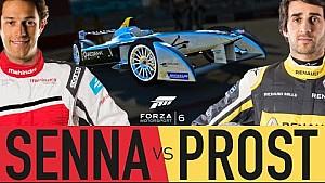 Presentación de Formula E Race Off
