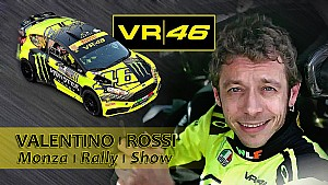 Valentino Rossi at Monza Rally Show 2015
