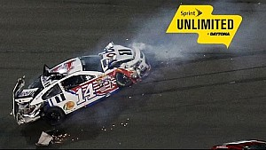 Vickers spin wrecks Junior, Harvick and others