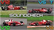 Vergleich: Ferrari-Motoren seit 1995