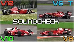 Comparación: Motores de Ferrari desde 1995