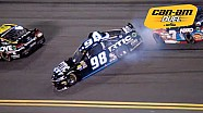 Whitt spins while racing for position