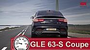Mercedes AMG GLE 63–S Coupé acceleration (0-250 km/h)