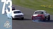 Epic MG racing *save*: How did this car not crash?