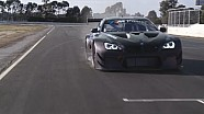 The new BMW M6 GT3 at Winton Raceway.